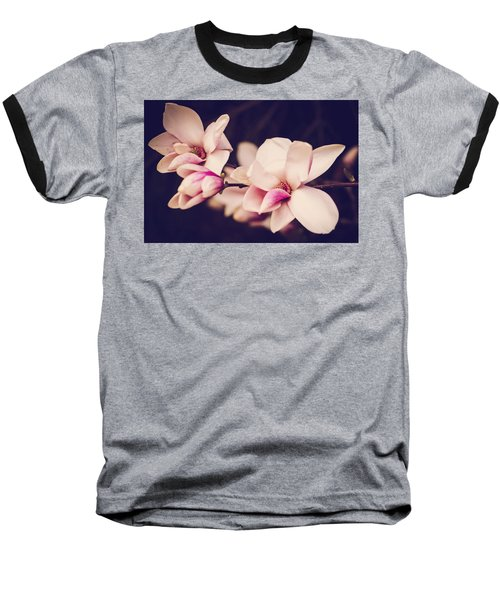 Sweet Magnolia Baseball T-Shirt by Sara Frank