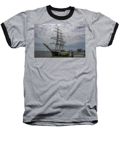 Baseball T-Shirt featuring the photograph Tall Ship Gunilla by Dale Powell