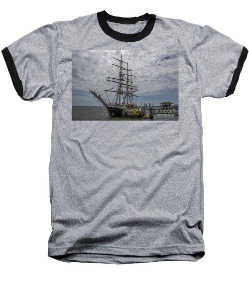 Tall Ship Gunilla Baseball T-Shirt by Dale Powell