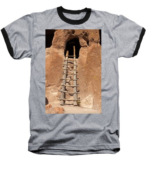 Talus House Front Door Bandelier National Monument Baseball T-Shirt