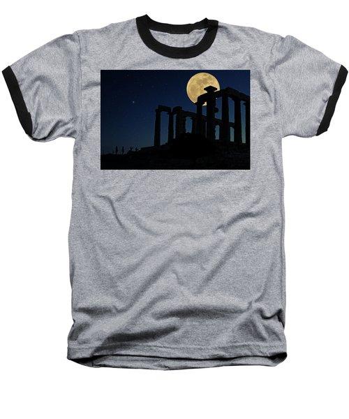 Temple Of Poseidon  Baseball T-Shirt