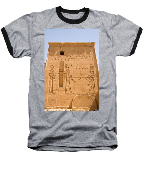 Temple Wall Art Baseball T-Shirt