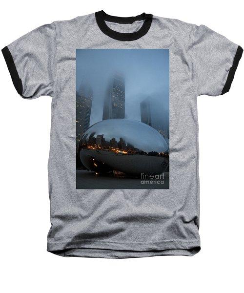 The Bean And Fog Baseball T-Shirt