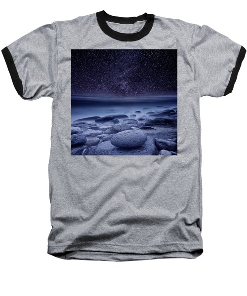 The Cosmos Baseball T-Shirt by Jorge Maia