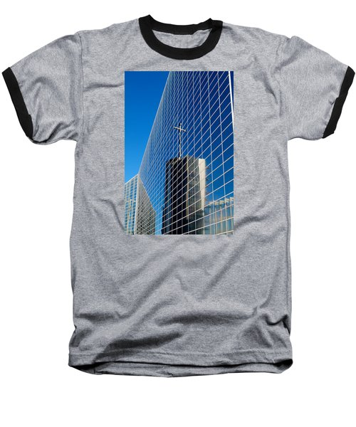 Baseball T-Shirt featuring the photograph The Crystal Cathedral by Duncan Selby