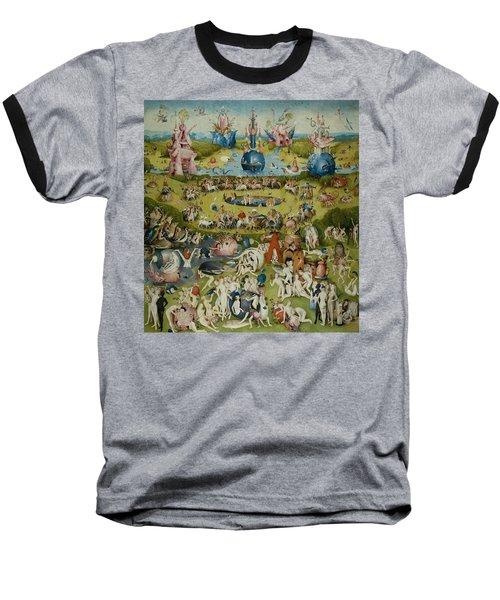 The Garden Of Earthly Delights Baseball T-Shirt