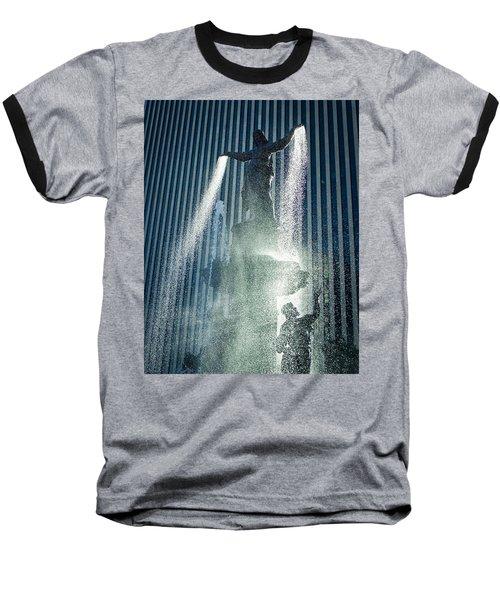 The Genius Of Water  Baseball T-Shirt
