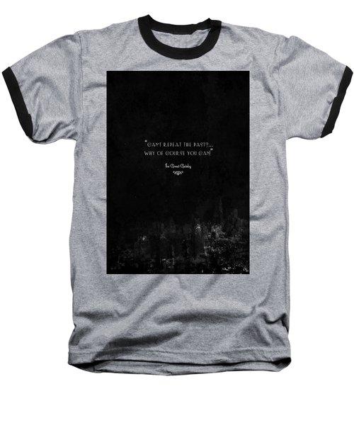 The Great Gatsby Baseball T-Shirt