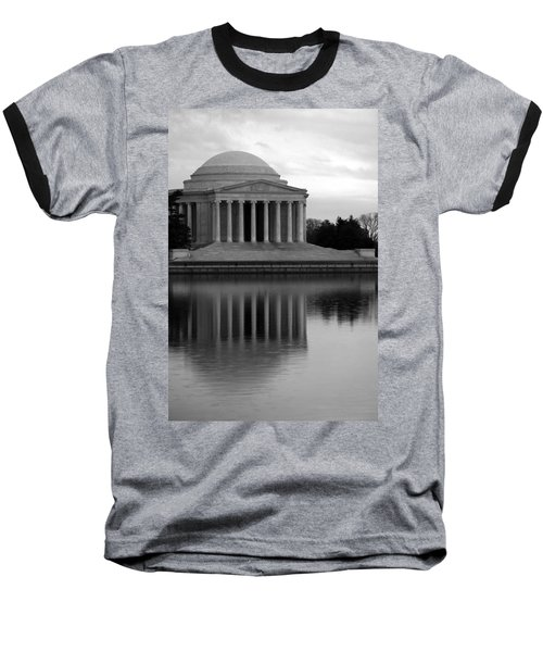 Baseball T-Shirt featuring the photograph The Jefferson Memorial by Cora Wandel