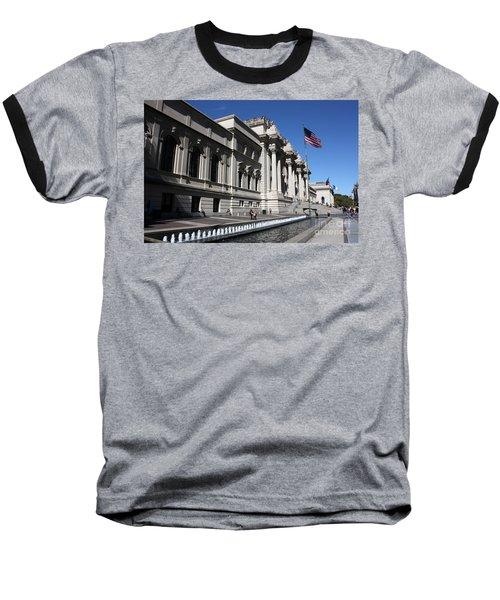 The Met Baseball T-Shirt by David Bearden