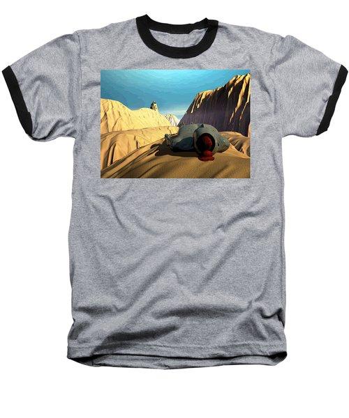 Baseball T-Shirt featuring the digital art The Midlife Dreamer by John Alexander