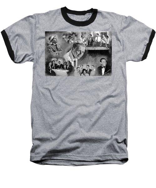 The Rat Pack  Baseball T-Shirt by Viola El