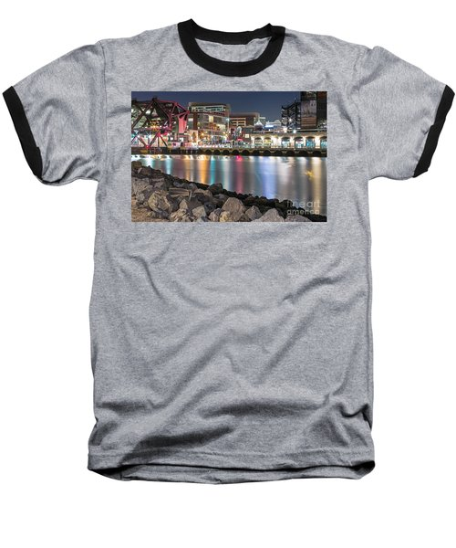 Third Street Bridge Baseball T-Shirt