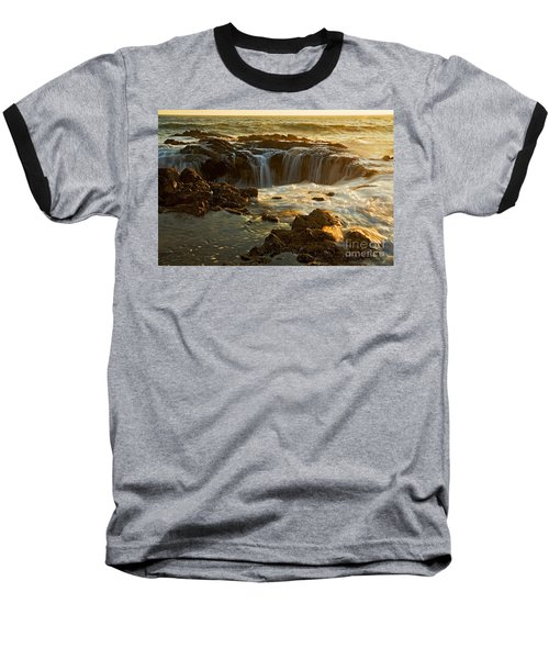 Thor's Well Baseball T-Shirt