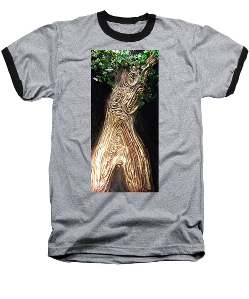Tree Goddess Baseball T-Shirt