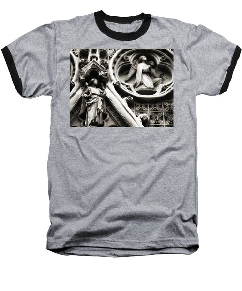 Baseball T-Shirt featuring the photograph Truro Cathedral by Rachel Mirror