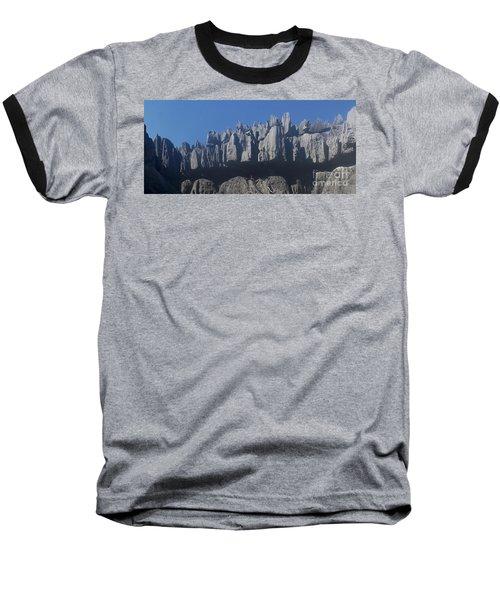 Baseball T-Shirt featuring the photograph Tsingy De Bemaraha Madagascar by Rudi Prott