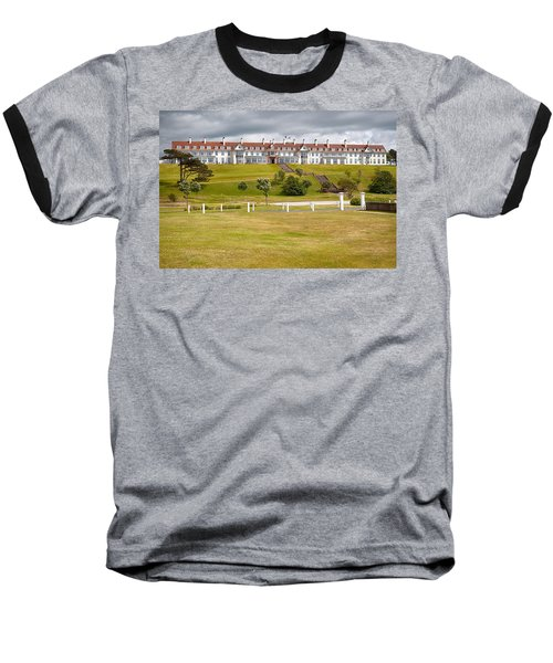 Turnberry Resort Baseball T-Shirt by Eunice Gibb