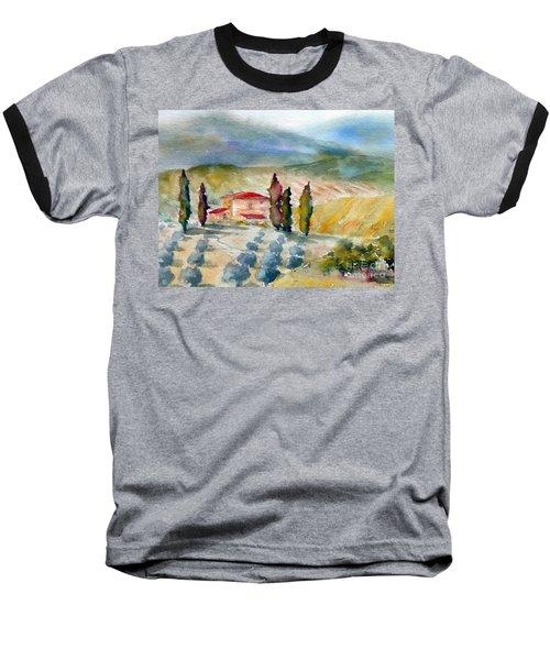 Tuscan Landscape Baseball T-Shirt