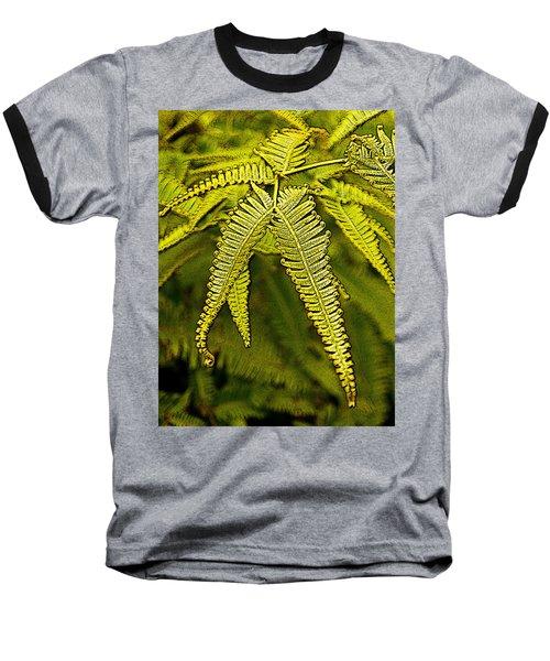 Uluhe Fern Baseball T-Shirt