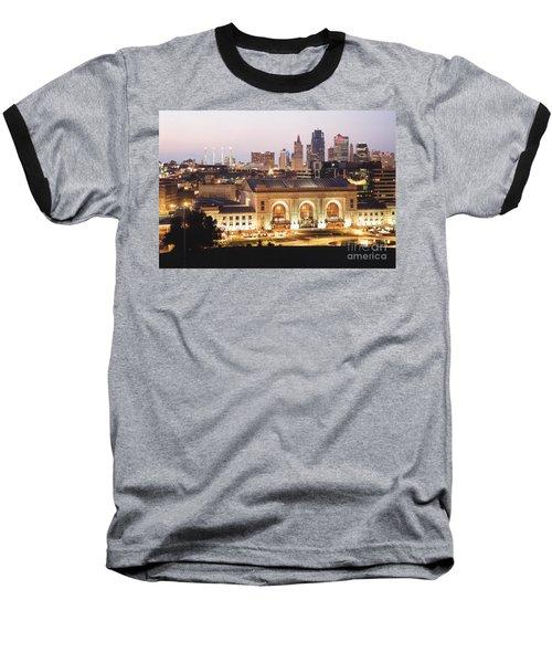 Union Station Evening Baseball T-Shirt