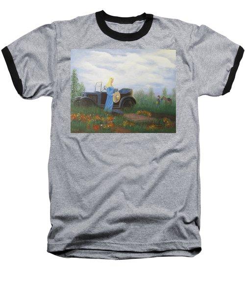 Waiting For A Picnic Baseball T-Shirt