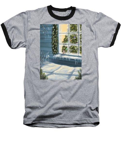 Waiting... Baseball T-Shirt by Veronica Minozzi