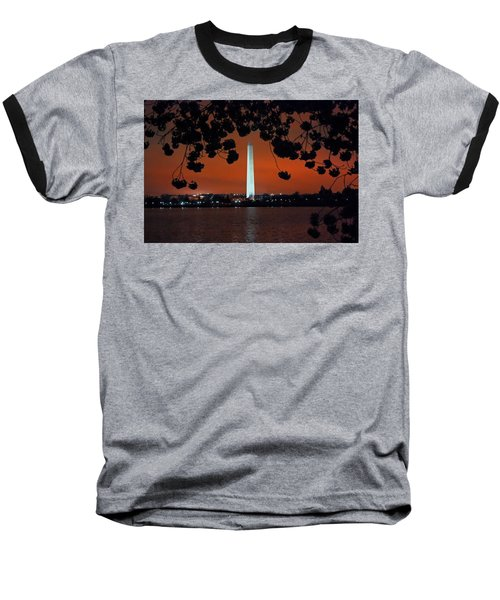 Baseball T-Shirt featuring the photograph Washington Monument by Suzanne Stout