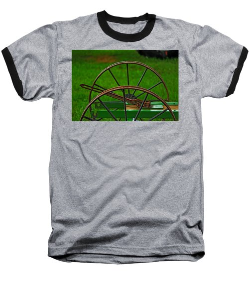 Baseball T-Shirt featuring the photograph Wheels Of Time by Rowana Ray
