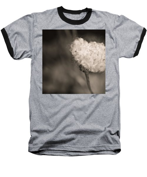 Baseball T-Shirt featuring the photograph White Whisper by Sara Frank