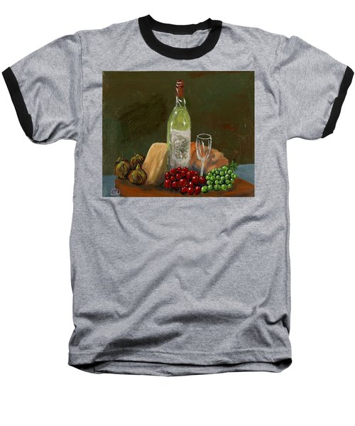 White Wine Baseball T-Shirt
