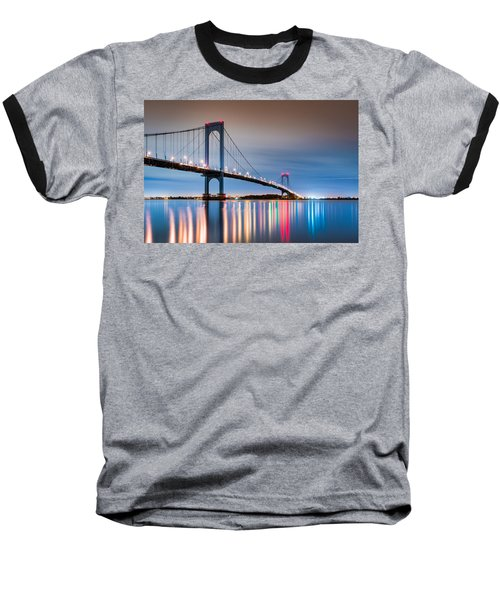 Whitestone Bridge Baseball T-Shirt