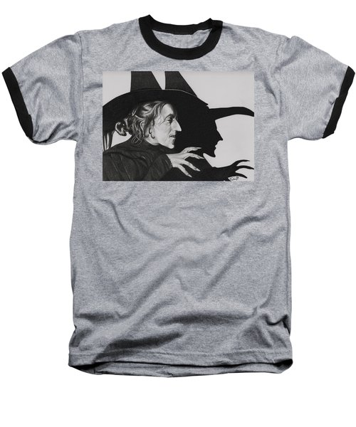 Wicked Witch Of The West Baseball T-Shirt by Fred Larucci