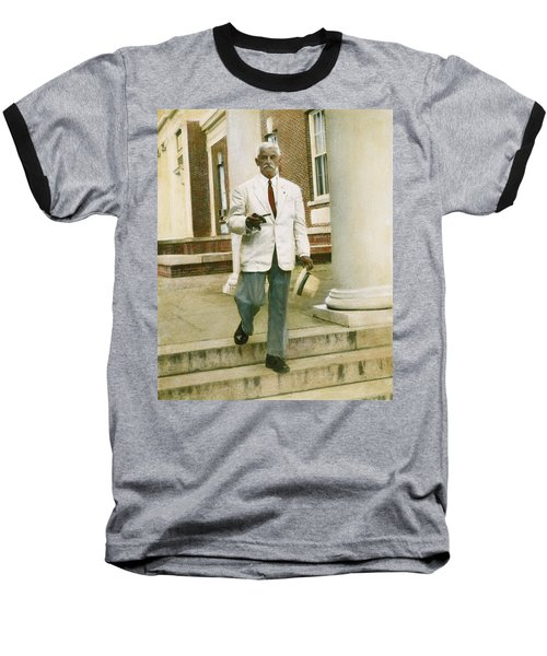 Baseball T-Shirt featuring the photograph William Faulkner (1897-1962) by Granger