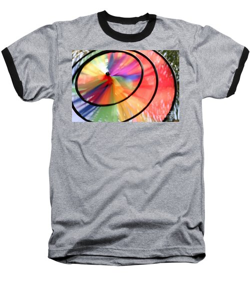 Baseball T-Shirt featuring the photograph Wind Wheel by Henrik Lehnerer