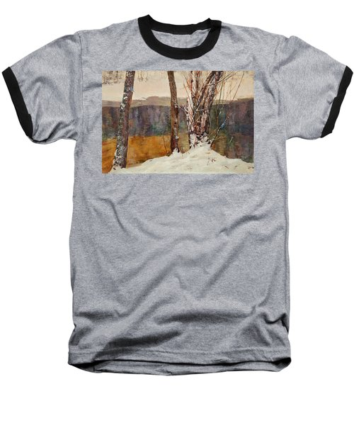 Winter River Baseball T-Shirt