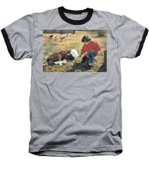 20 Minute Orphan Baseball T-Shirt by Lori Brackett
