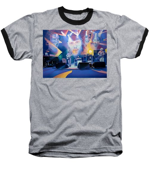 Baseball T-Shirt featuring the drawing 20 Years Later by Joshua Morton