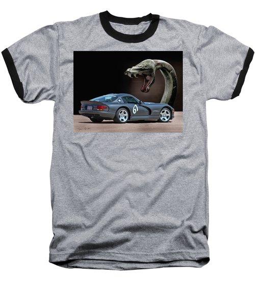 2002 Dodge Viper Baseball T-Shirt