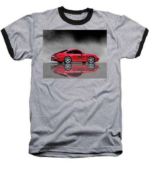 2009 Porsche Carrera Baseball T-Shirt