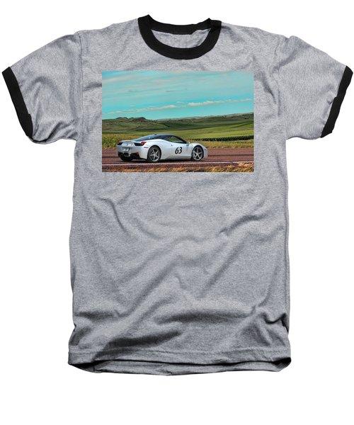 2010 Ferrari Baseball T-Shirt