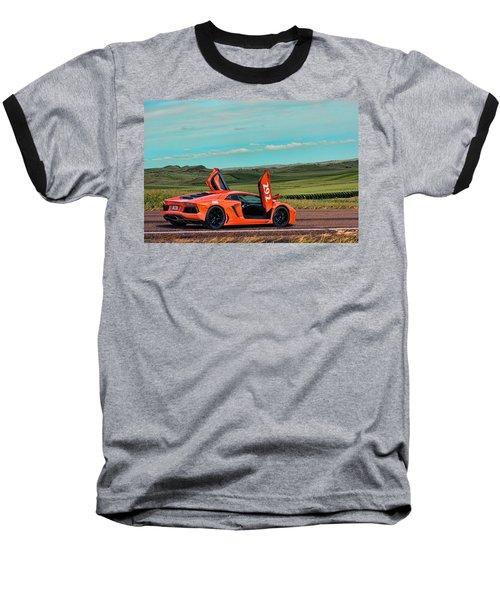 2012 Lamborghini Aventador Baseball T-Shirt