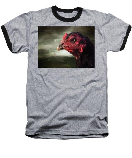 22. Game Hen Baseball T-Shirt