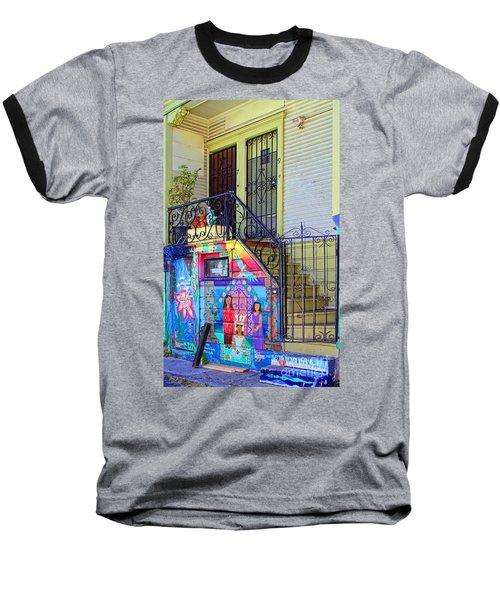 25 Balmy Alley San Francisco Baseball T-Shirt