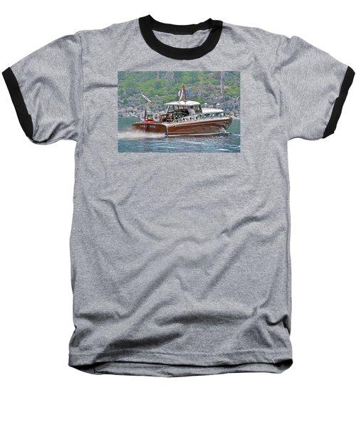 Mahogany Magic Baseball T-Shirt