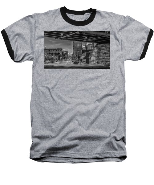Baseball T-Shirt featuring the photograph 2nd Street by Ray Congrove