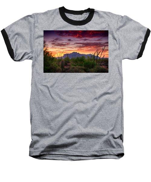A Superstition Sunrise  Baseball T-Shirt