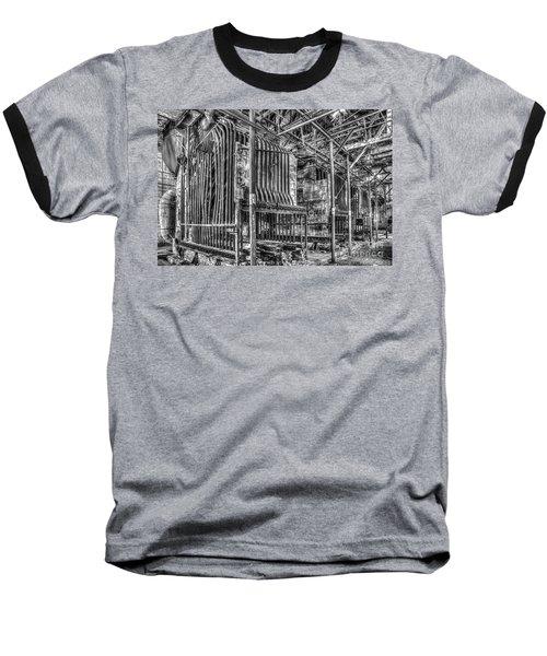 Abandoned Steam Plant Baseball T-Shirt