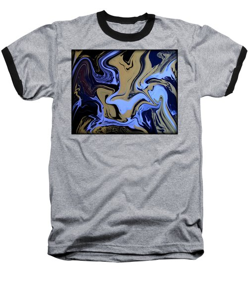 Abstract 47 Baseball T-Shirt