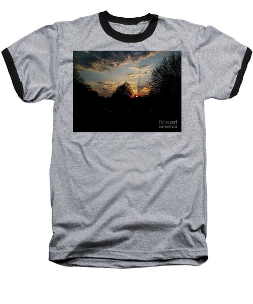 Beauty In The Sky Baseball T-Shirt